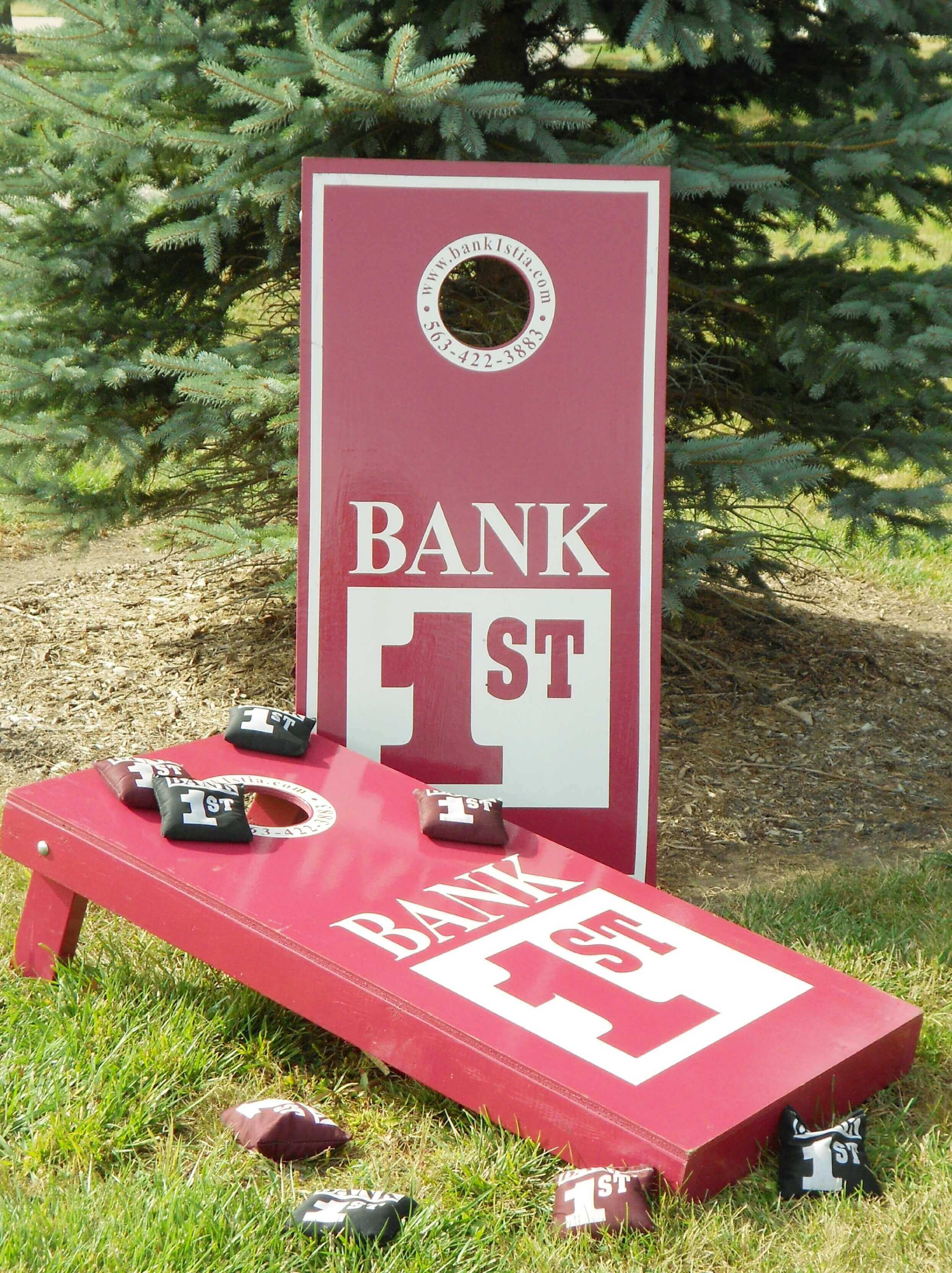 Bank 1st Bean Bag Boards