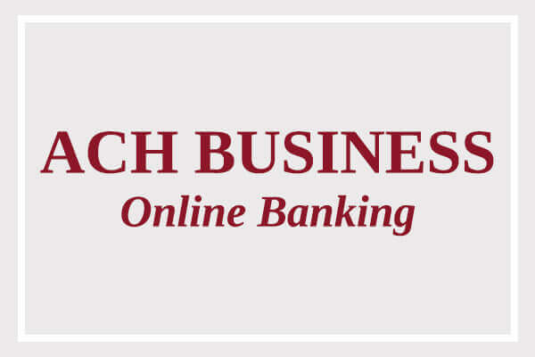 Click to open Bank 1st's Online Banking for ACH Businesses